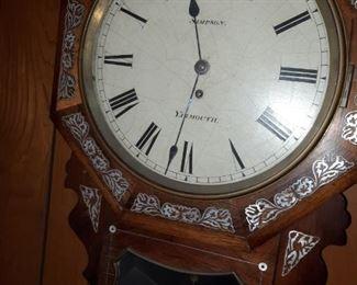 Simpson Yarmouth early 1800's Clock