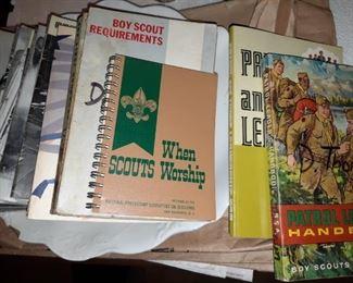 Vintage Scouts Items