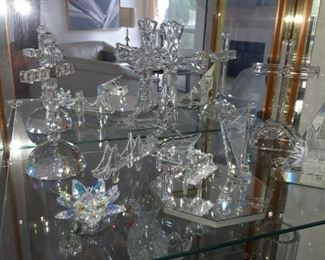 Waterford & Swarovski crystal
