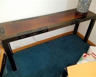 Oriental sofa/console table