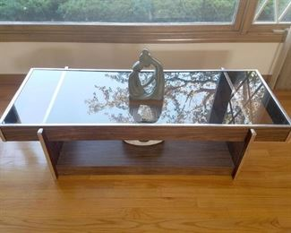 Matching smoke glass coffee table