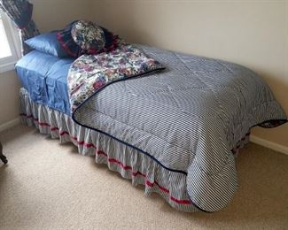 Pair of twin beds