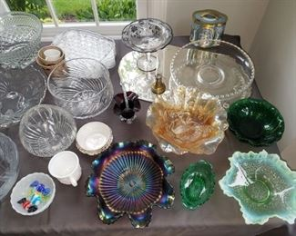 Carnival glass and more