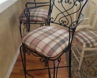 Ethan Allen bar stools. Perfect for a tall bar.