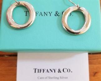Sterling Tiffany earrings.