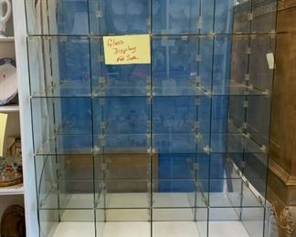 Glass Display Cubes - 2 Available - $200 Each