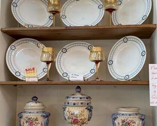 Tiffany Plates - SALE 50% OFF