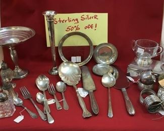 Sterling Silver - 50% OFF