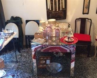 Mirrored Custom Table