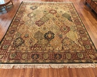 Persian Empire Panel Rug 13.5 x 9.5
