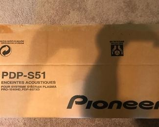 Pioneer Speakers: Brand New in the Box