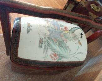 Vintage Oriental lunch box