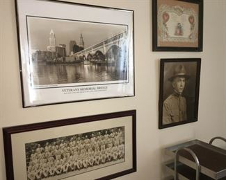 WWI, WWII, and other Historical Photos--some unframed Panoramics too.
