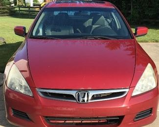 This Honda Was Just Added So We Have All Details At the Sale...