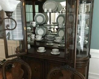 Great Looking Matching China Cabinet