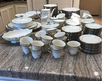 Lenox Snow Lily China and Serving Pieces