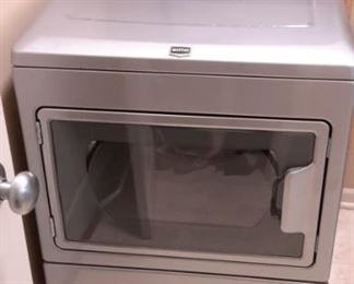 BRAVOS X™ HIGH-EFFICIENCY ELECTRIC DRYER in Liquid Silver  http://www.maytag.com/washers-and-dryers/dryers/electric/p.bravos-x-high-efficiency-electric-dryer.medx700xl.html