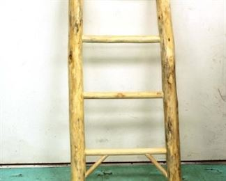 log ladder