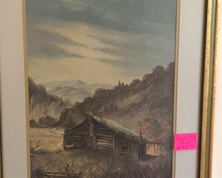 framed print by Russell May