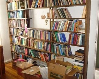 all books on shelves are 2.00 each  - mostly Vintage  bibles and religious study