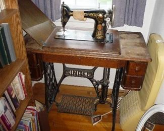 Singer treadle machine