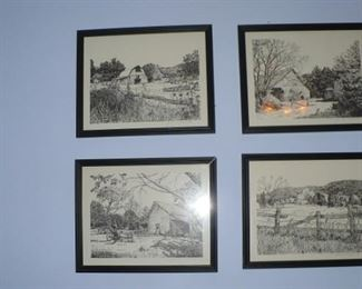 COUNTRY SCENSE  PRINTS