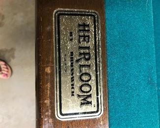 Heirloom Pool Table