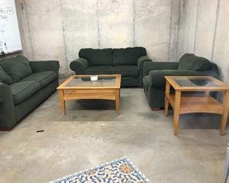 3 Puece Sofa Set