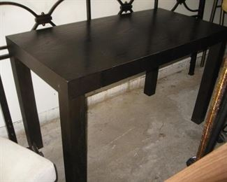 Writing or console table with a drawer