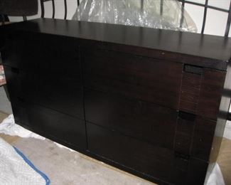 Dresser with matching night stand and king headboard
