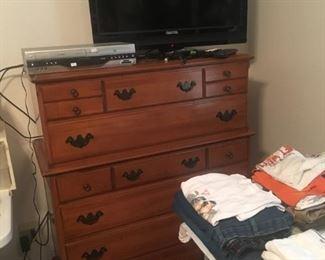 chest of drawers, flatscreen TV