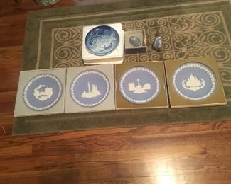 Wedgewood collector plates