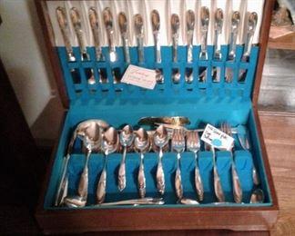 Fantasy flatware, silverplate