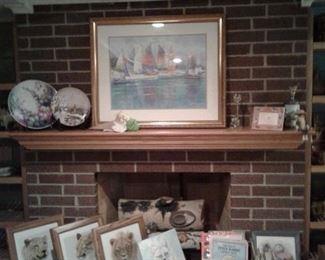 china painting, sailboat pic