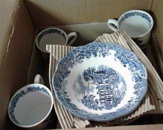 Haddon Hall Romantic England dishes
