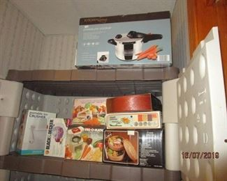 New in box small kitchen appliances
