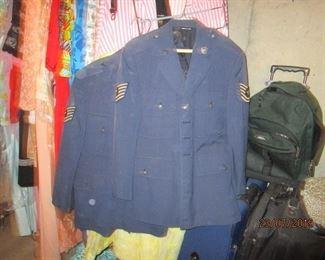 Air force uniforms