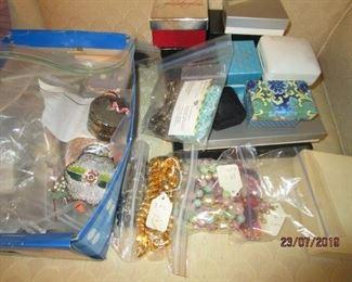 necklaces, bracelets, etc