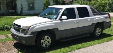 2002 Chevy Avalanche Z66 1500, 151,964 mi.