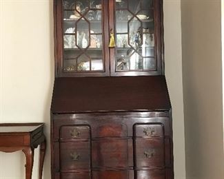 Early claw foot drop front Secretary