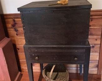 Southern primitive cellared made from yellow pine
