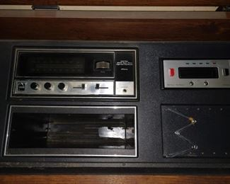 Dining Room:  Stereo w/Eight track