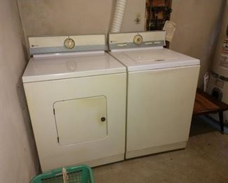 Basement Wash Room Right:  Washer & Dryer