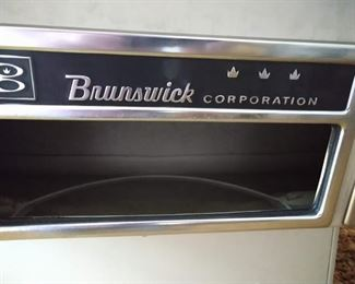 "Basement Pool Room Right:  Brunswick Corp.  ""Celebrity"""
