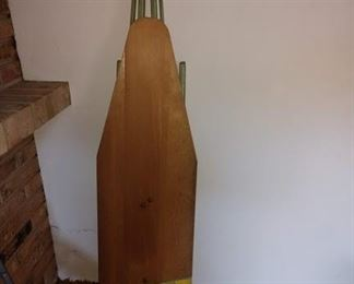 Basement Pool Room Right:  Vintage Ironing Board