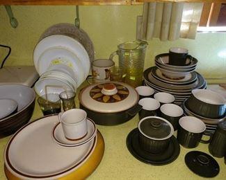 Kitchen:  Dishes