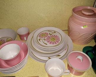 Kitchen:  Mikasa Pink Duplex