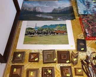 Basement Room Left: Prints,