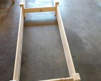 Garage:  White Cedar Planting Holder
