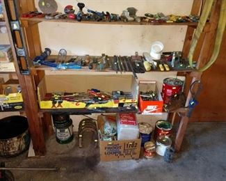 Garage:  Tools, Screw Drives & other Tools